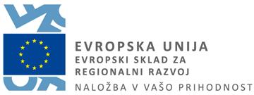 EU - Evropski sklad za regionalni razvoj
