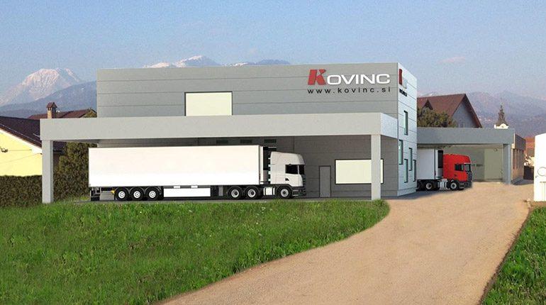 Izgradnja nove proizvodne hale