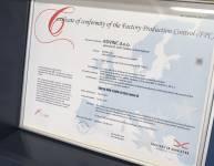 Certifikat za varjenje