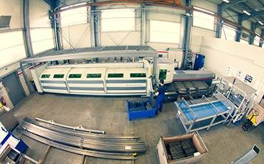 Laserski razrez cevi s fiber tehnologijo