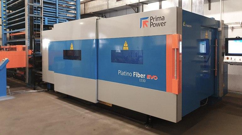 Ploskovni laser Prima Power Platino Fiber EVO 1530