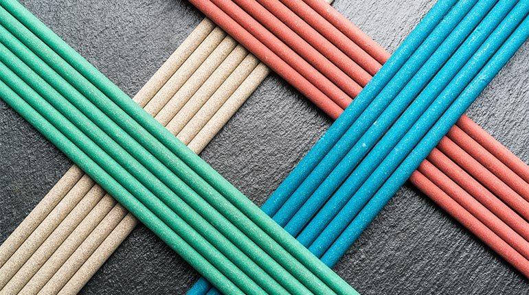 Barva volfram elektrode